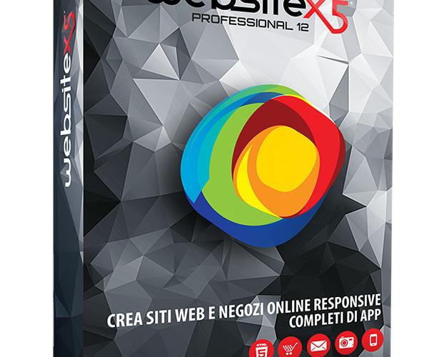Incomedia lancia la versione 12 di WebSite X5 Professional.