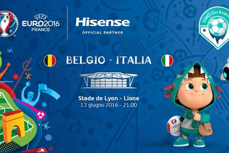 Hisense sponsorizza gli europei di calcio 2016: Euro 2016