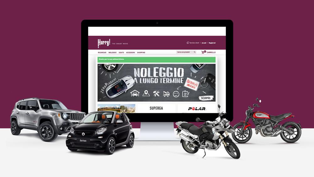 Hurry: Sito di ecommerce smart!