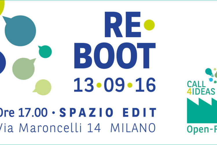 Re-Boot Open-F@b 2016: Workshop 13 settembre 2016