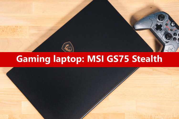 Gaming laptop: dalla MSI il nuovo GS75 Stealth