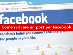 Come scrivere un post per Facebook?
