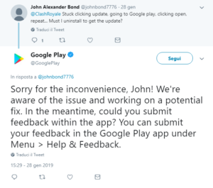 google_play_store_non_funziona