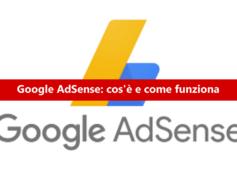 AdSense: cos'è e come funziona