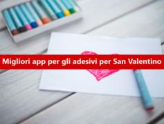 WhatsApp: le migliori app per gli adesivi per San Valentino 2019